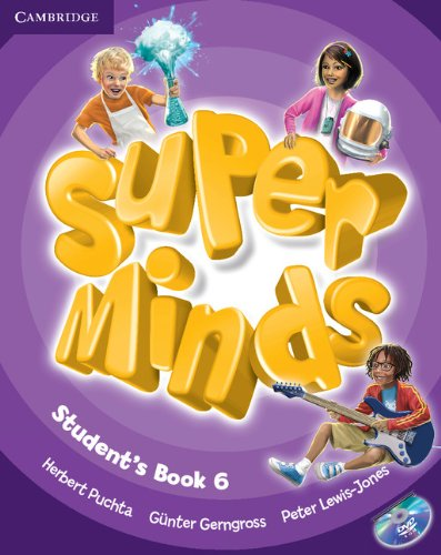 Super Minds Level 6 Student's Book with DVD-ROM