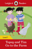 Ladybird: Topsy and Tim: Go to the Farm (PB) +downloadable audio