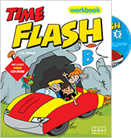 Time Flash B Workbook with Student's audio CD/CD-Rom