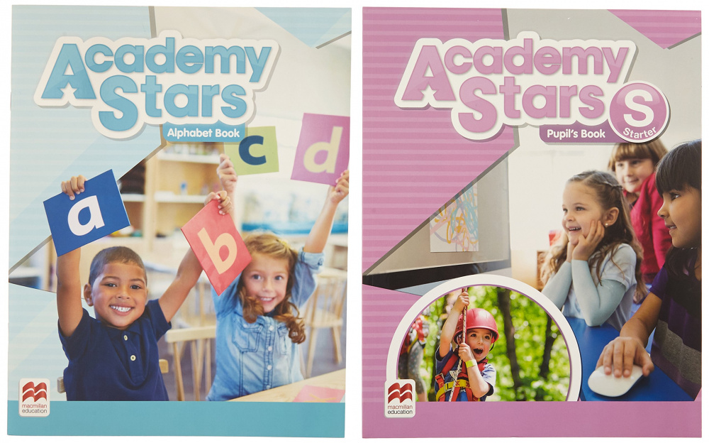 Academy Stars Starter Pupil's Book with Alphabet Pack