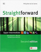 Straightforward (Second Edition) Upper Intermediate Student's Book + Webcode + e-book