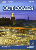 Outcomes Second edition Intermediate Students Book with Access Code and DVD