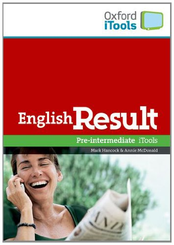 English Result Pre-Intermediate  iTools: Digital Resources for Interactive Teaching