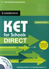 KET for Schools Direct  Student's Pack (Student's Book with CD-ROM and Workbook without answers)