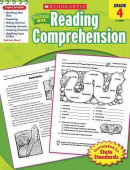Scholastic Success with Reading Comprehension, Grades 4