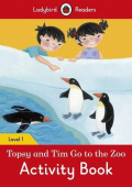 Ladybird: Topsy and Tim: Go to the Zoo Activity Book