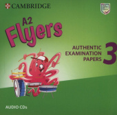 A2 Flyers 3 Audio CDs
