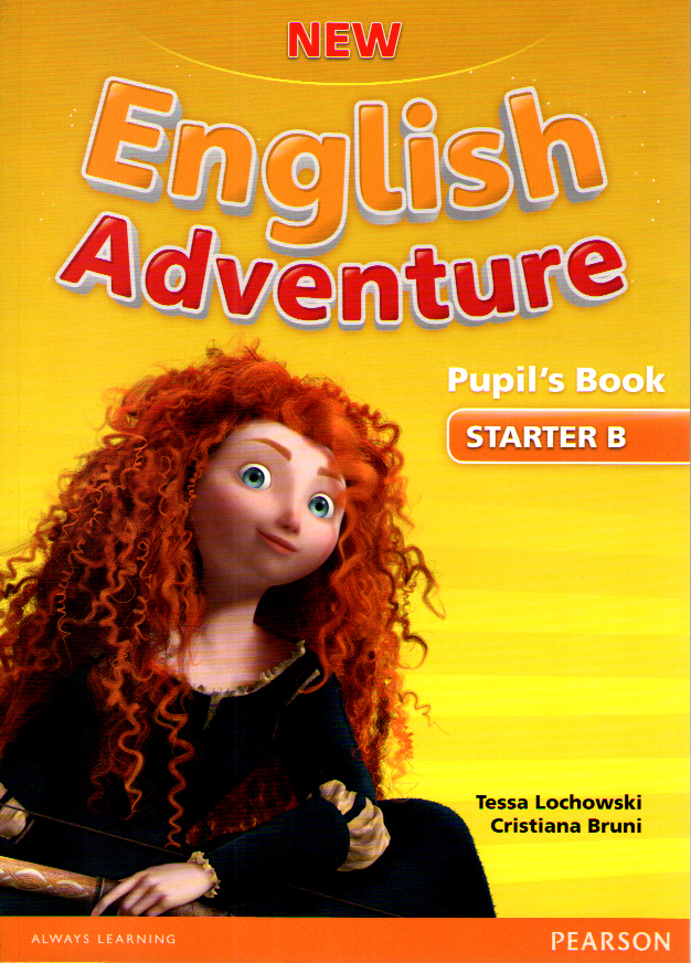 New English Adventure Starter B Pupil's Book and DVD Pack
