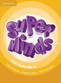 "Super Minds  Level 5 Class CD""s (4)"
