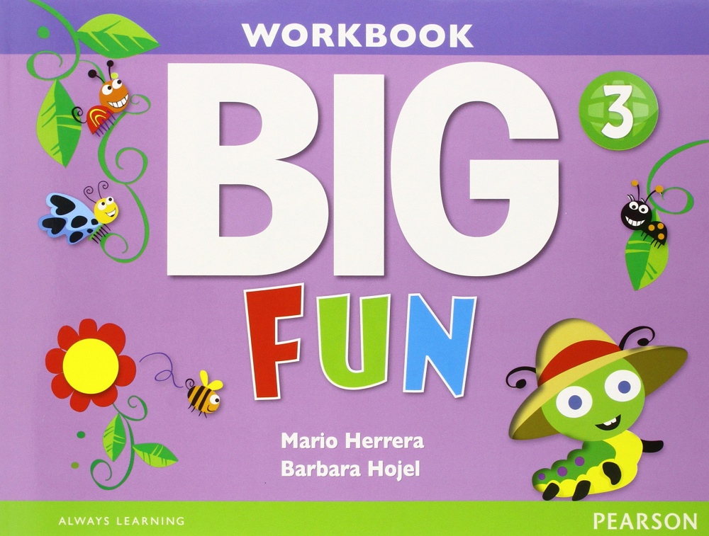 Big Fun 3 Workbook with Audio CD