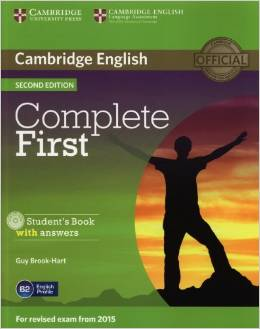 Complete First Second edition (for revised exam 2015) Student's Book with answers with CD-ROM