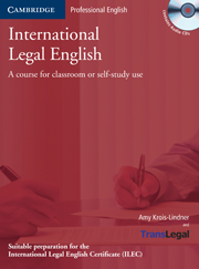 International Legal English Student's Book with Audio CDs (3)