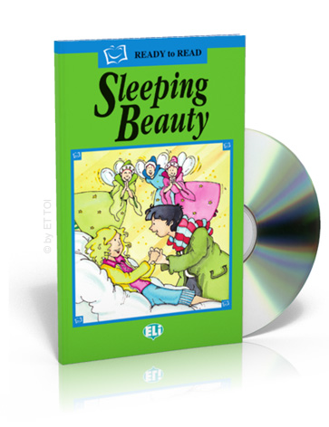ELi Readers Green Series: (A1) Sleeping Beauty with CD