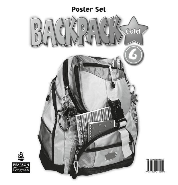 Backpack Gold Level 6 Posters