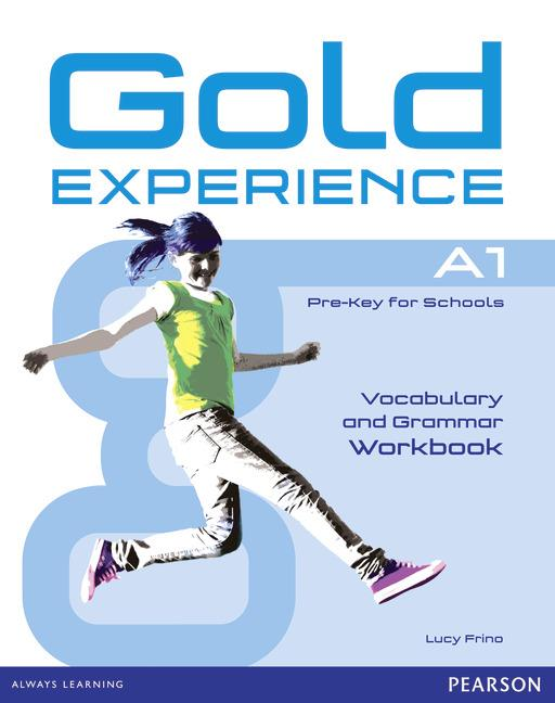 Gold Experience A1 Grammar & Vocabulary Workbook without key