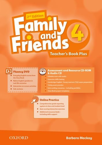 Family and Friends Second Edition 4 Teachers Book Pack