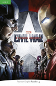 Pearson English Readers Level 3: Marvel's Captain America: Civil War Book & MP3 Pack