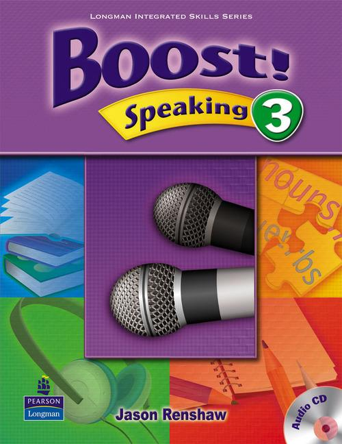 Boost Speaking 3 Student's Book with Audio CD