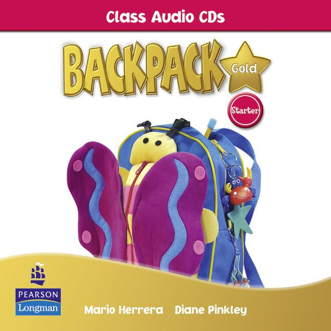 Backpack Gold Starter Class Audio CD