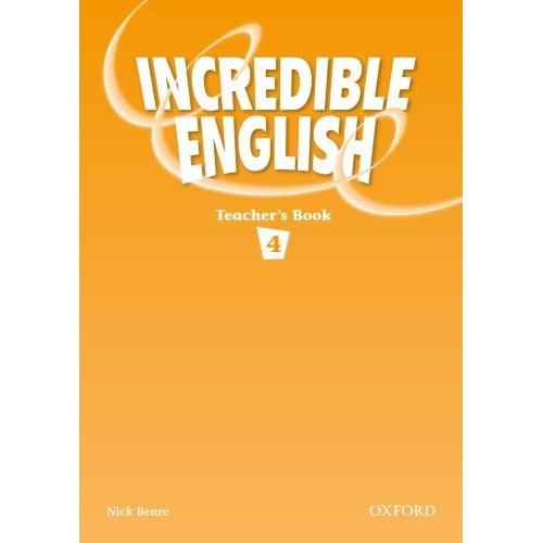 Incredible English 4 Teacher's Book