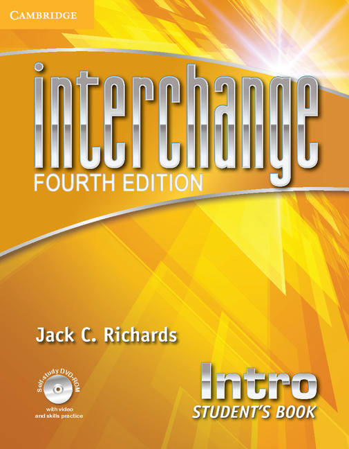 Interchange Fourth Edition Intro Student's Book with Self-study DVD-ROM