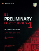 B1 Preliminary for Schools 1 for the Revised 2020 Exam Student's Book with Answers with Audio