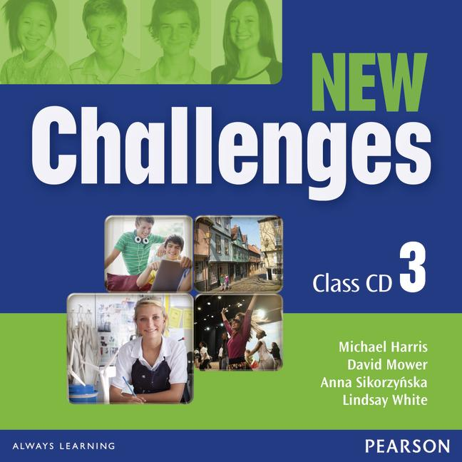 New Challenges 3  Class Audio CD (Лицензия)