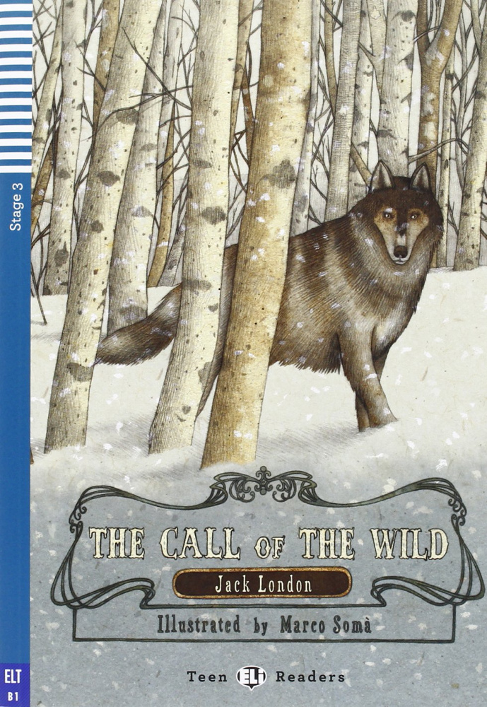 Teen Eli Readers Stage 3: The Call of the Wind with CD (1000 headwords)