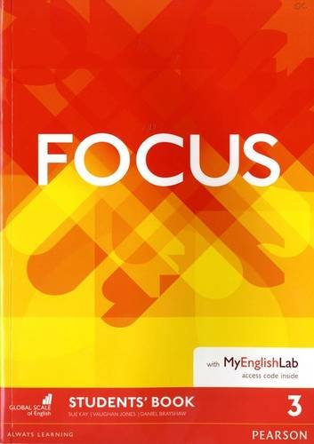 Focus 3 Student's Book & MyEnglishLab Pack