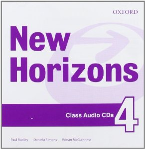 New Horizons 4 Class Audio CD