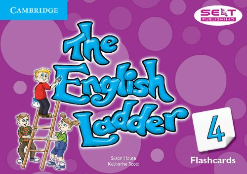The English Ladder 4 Flashcards (Pack of 72)