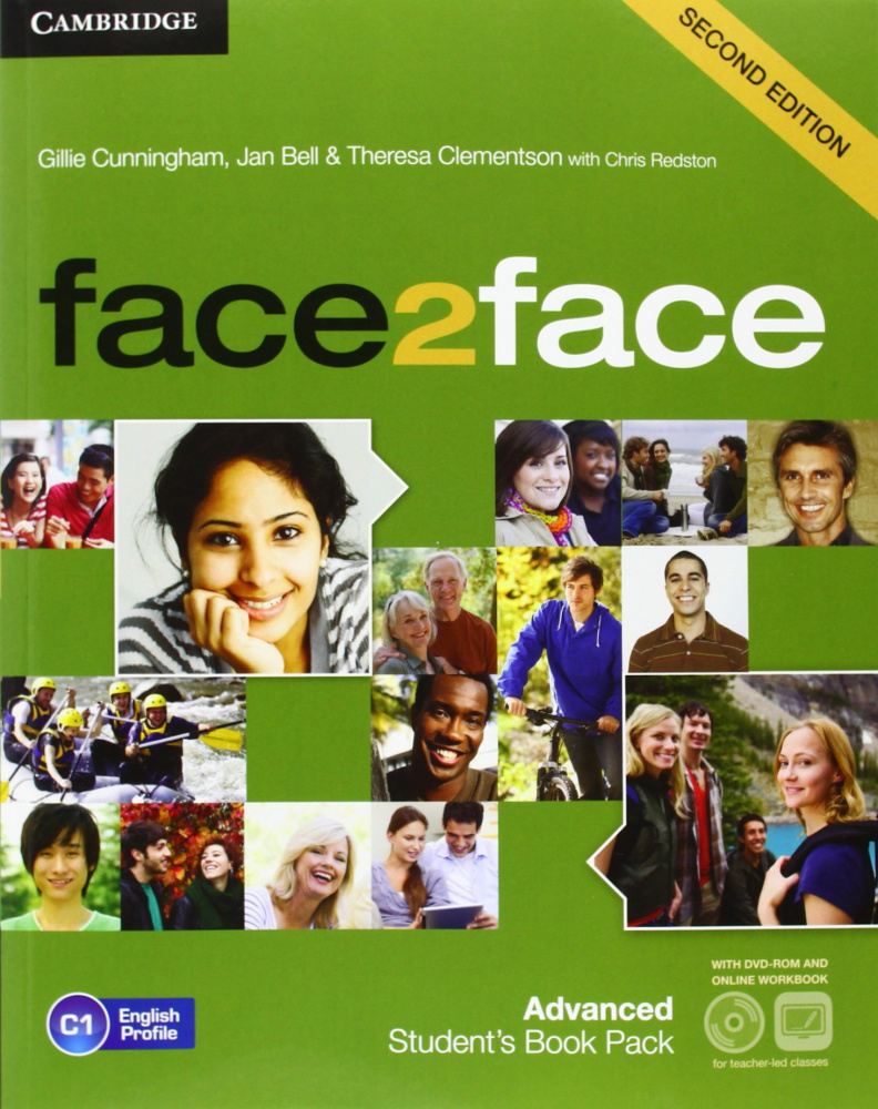 face2face (Second Edition) Advanced Student's Book with DVD-ROM and Online Workbook Pack
