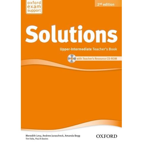 Solutions Second Edition Upper-intermediate Teacher's Book and CD-ROM Pack