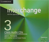 Interchange 5th Edition 3 Class Audio CDs