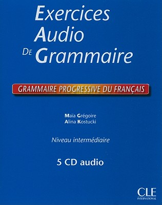 Exercices audio de grammaire Intermediare - Coffret de 5 CD audio
