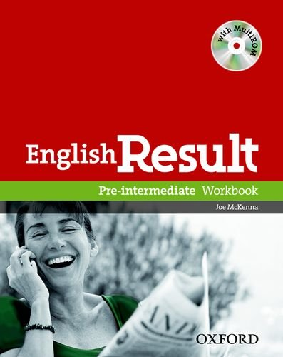 English Result Pre-Intermediate Workbook With Answer Booklet