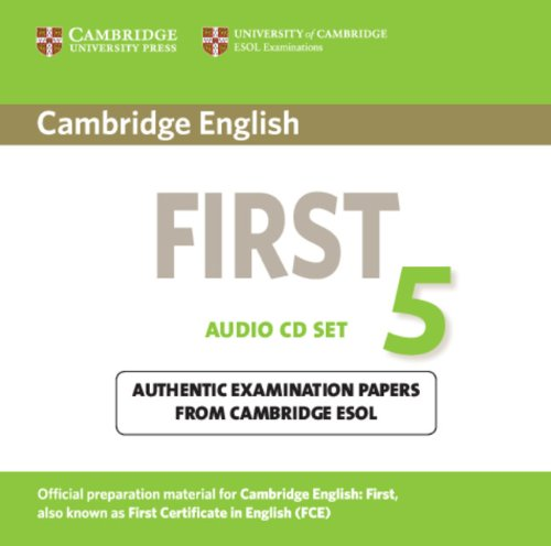 Cambridge English First 5 Audio CDs (2) (Лицензия)
