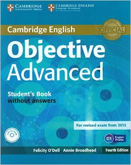 Objective Advanced 4th Edition (for revised exam 2015) Student's Book without Answers with CD-ROM