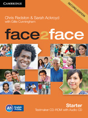 face2face (Second Edition) Starter Testmaker CD-ROM and Audio CD