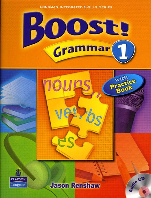 Boost Grammar 1 Student's Book with Audio CD