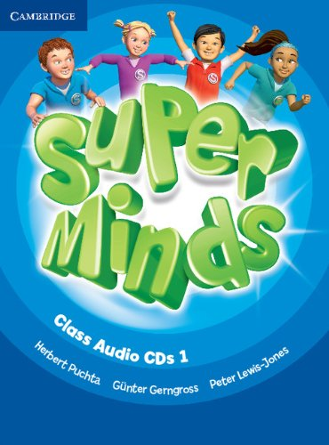 Super Minds Level 1 Class Audio CDs (3) (Лицензия)
