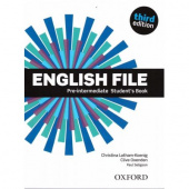 English File Third Edition Pre-Intermediate Student's Book with Student's Site