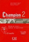 Champion 2 Cahier d'exercices + CD audio