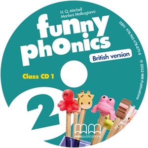 Funny Phonics 2 Class CD/CD-ROMs (British version)
