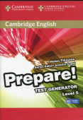Cambridge English Prepare! Test Generator Level 5 CD-ROM