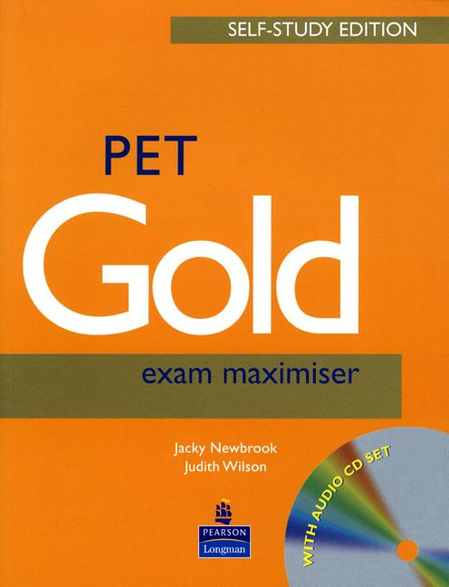 PET Gold Exam Maximiser Self-Study Edition (Book with Key and CD)