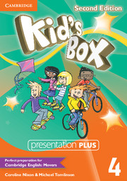 Kid's Box Second Edition 4 Presentation Plus