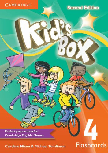 Kid's Box Second Edition 4 Flashcards (Pack of 103)