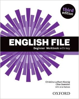 English File Third Edition Beginner Workbook with key