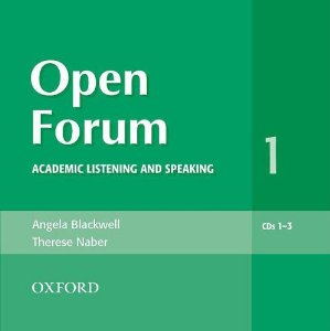 Open Forum 1 Audio CDs (3)
